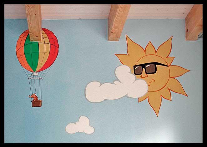 Illusionsmalerei und wandmalerei hochwertig und individuell for Wandmalerei kinderzimmer